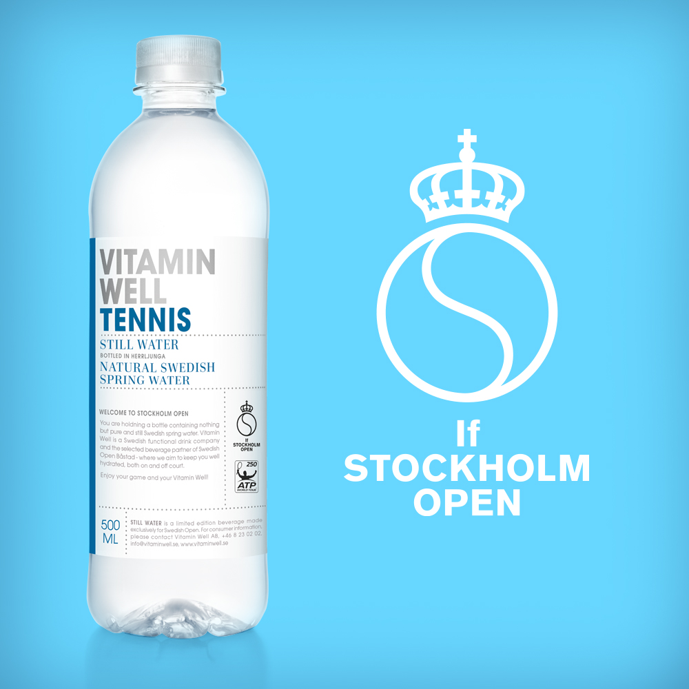Vitamin Well If Stockholm Open
