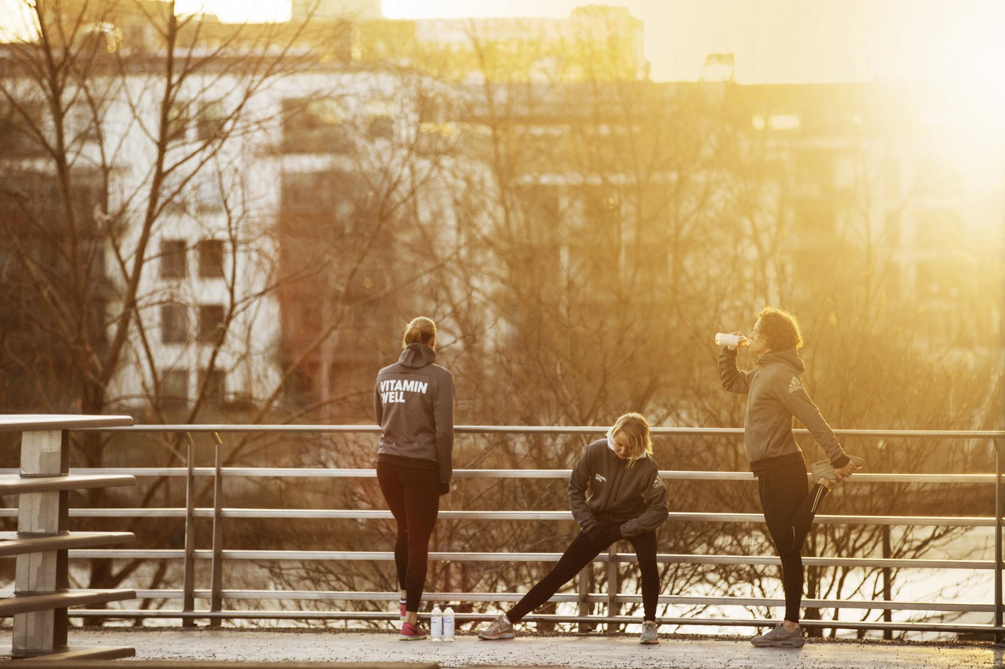 Välmående, träning och vitamin well