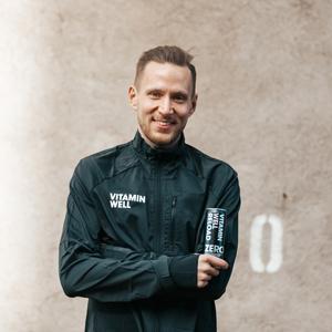 Aapo Kinnunen Nordic Runners Vitamin Well